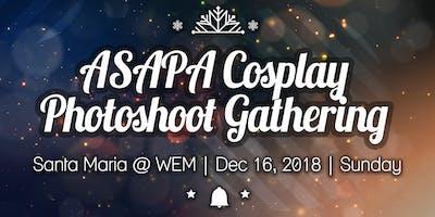 ASAPA Cosplay Photo Shoot Gathering - Santa Maria at WEM Edition