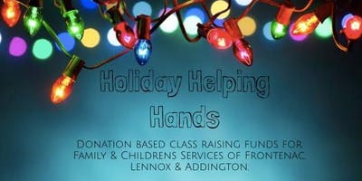 Holiday Helping Hands (Donation Class for Family & Childrens Services)