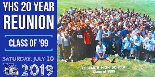 YHS Class of '99 TWENTY Year Reunion