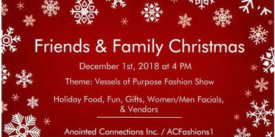 Friends & Family Christmas 2018