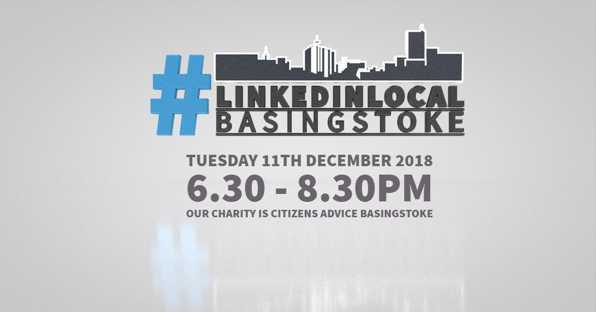 #Linkedinlocal Basingstoke networking in and