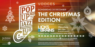 Pop Up The Jazz Club - The Christmas edition