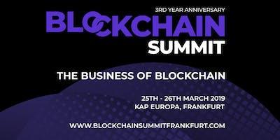 Blockchain Summit Frankfurt 2019