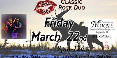 April Red debuts at The Zephyrhills Moose Lodge #2276!