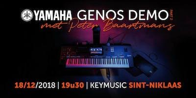 Yamaha Genos Demo Part 2 met Peter Baartmans