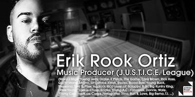 "Conférence avec Erik \""Rook\"" Ortiz (Drake, The Game, Rick Ross, Mary J.Blige ... )"
