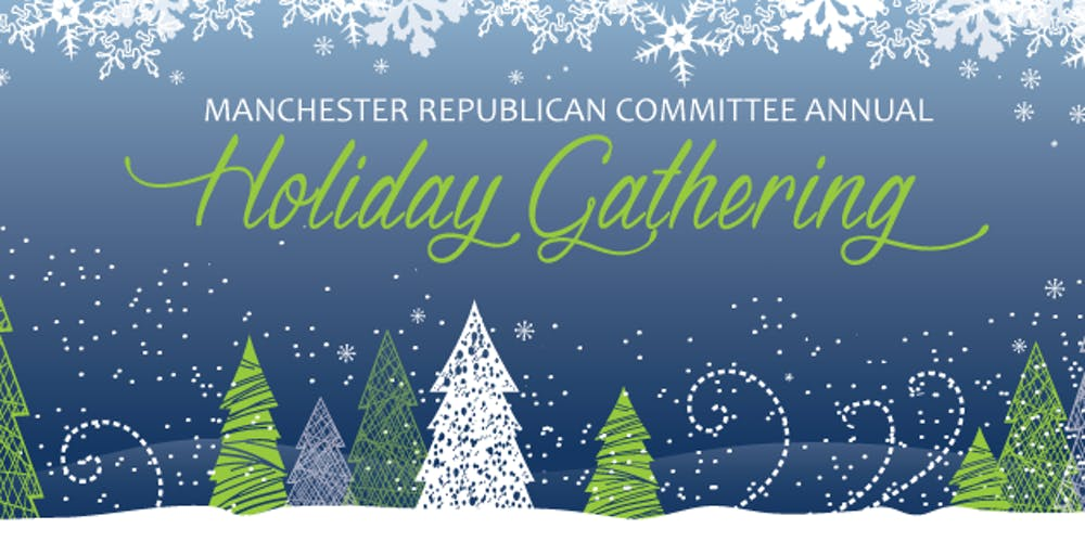 Gop Christmas Message.Manchester Gop 7th Annual Holiday Gathering 2019 Tickets