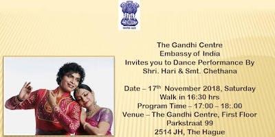 Dance Performance By Shri. Hari & Smt. Chethana