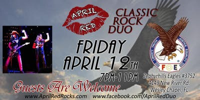 April Red LIVE at The Zephryhills Eagles #3752 in Wesley Chapel!