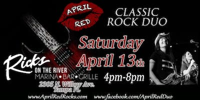 April Red Rockin' Rick's on the River in Tampa!
