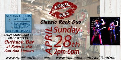 April Red is Ready to Rock Outback Ralph's aka San Ann Liquor!