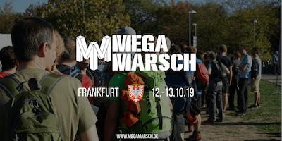Megamarsch Frankfurt 2019