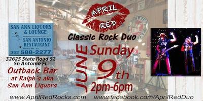 April Red Rockin' The Outback at Ralph's aka San Ann Liquors!
