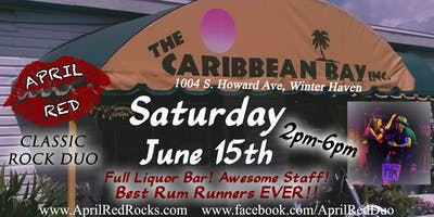 April Red LIVE at The Caribbean Bay Bar in Winter Haven!