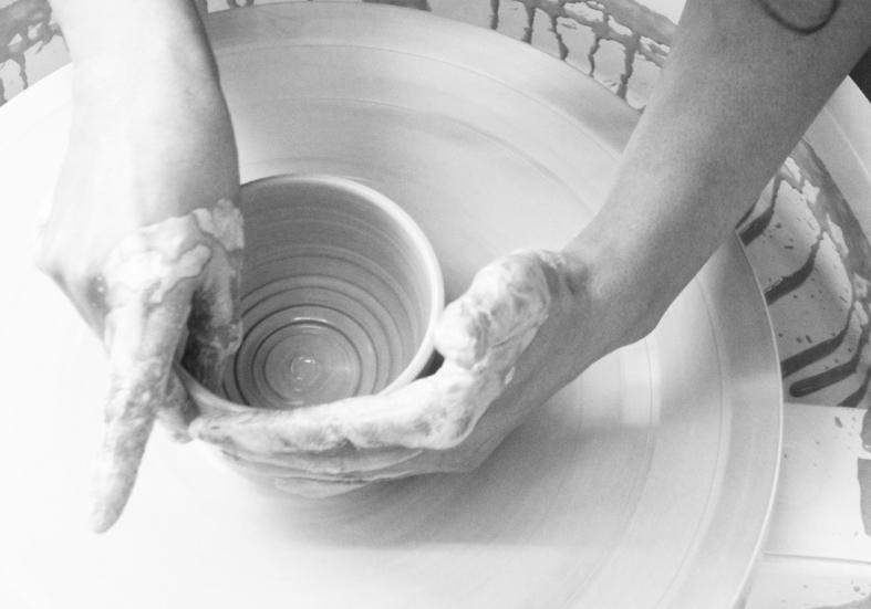 Have-A-Go Beginners Throwing Pottery Wheel Cl