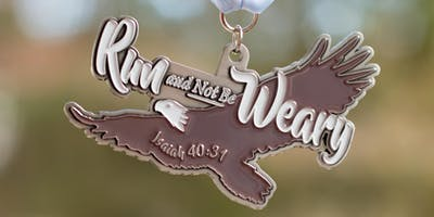 2019 Run and Not Be Weary 1 Mile, 5K, 10K, 13.1, 26.2 - Topeka