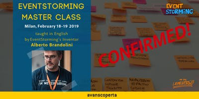 EventStorming Master Class - February 2019 (Milan)