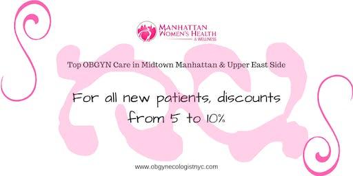 Discount from Manhattan Women's Health & Wellness