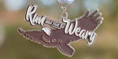 2019 Run and Not Be Weary 1 Mile, 5K, 10K, 13.1, 26.2 -Winston-Salem