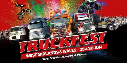 Truckfest West Midlands & Wales Truck Entry 2019