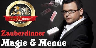 Tatort Zauberdinner:  Magie und Menue mit Matthias Rauch