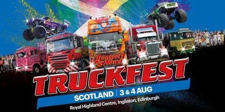 Truckfest Scotland Truck Entry 2019 tickets