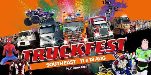 Truckfest South East Truck Entry 2019