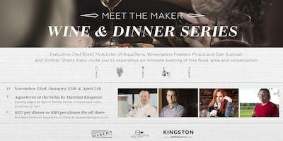 Meet the Makers Wine Dinner Series