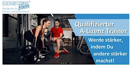 Ausbildung zum Qualifizierten Fitnesstrainer (A-Lizenz) Tickets