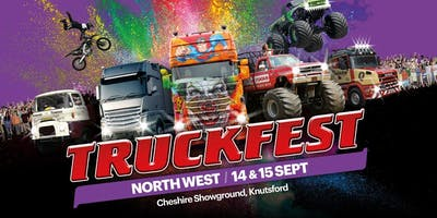 Truckfest North West Truck Entry 2019