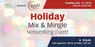 AMA & DMA Detroit Marketing Professionals Holiday Mix & Mingle