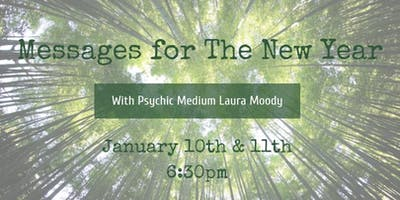 Messages for The New Year with Psychic Medium Laura Moody