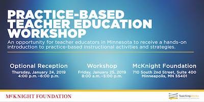 Practice-Based Teacher Education Workshop