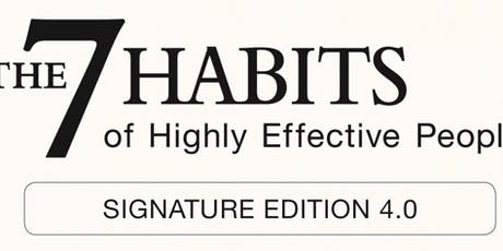 7 Habits Of Highly Effective People  tickets