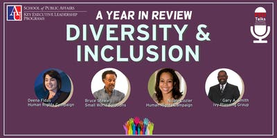 2018 Key FEDTalks | Diversity & Inclusion: A Year in Review