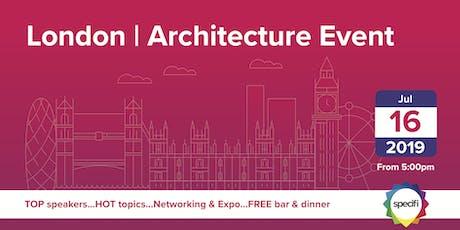 Specifi London 1 - ARCHITECTURE EVENT tickets