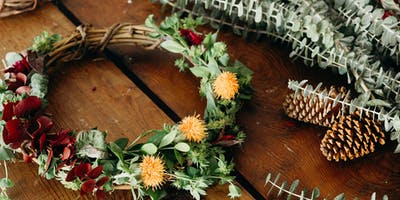 Handcrafted Holidays - 21+ Only | Wreath Bar | Dec 9