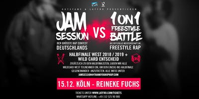 Jam Session Vs. 1ON1 Freestyle Halbfinale West  - 15.12. Reineke Fuchs