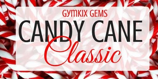 GymKix Gems Candy Cane Classic Meet