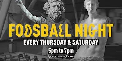 Foosball Night - The YellowSquare