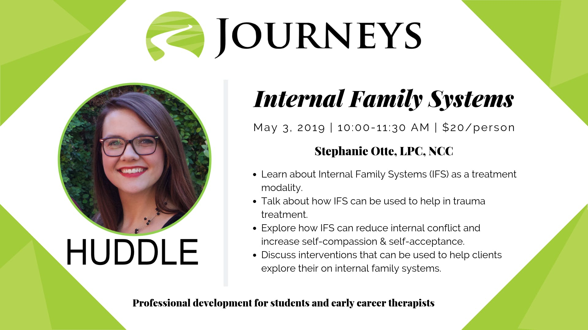 HUDDLE - Internal Family Systems (IFS)