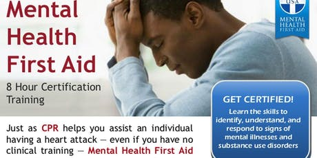 Gulf Bend Center Mental Health Mental Health First Aid Training - Adult tickets