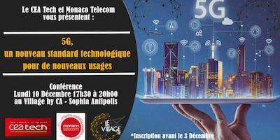 5G, un nouveau standard technologique pour de nouveaux usages