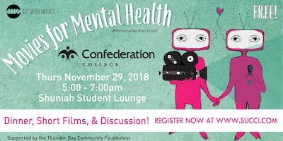 Movies For Mental Health - Dinner, Short Films & Discussion!