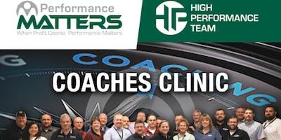Coaches Clinic Service Training - Echo Group (Class 2)