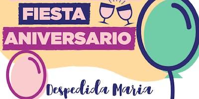FEM-WORK Fiesta Aniversario y Despedida María