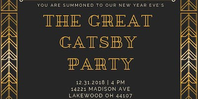 Distill Table Great Gatsby New Year\