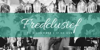 Fredclusief 30 november - proeverij bij Van Kleef - netwerkborrel