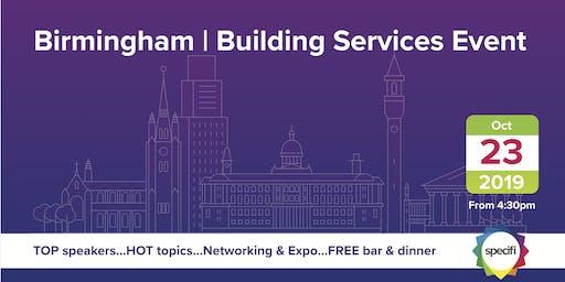 Specifi Birmingham - BUILDING SERVICES EVENT