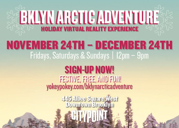 BKLYN ARCTIC ADVENTURE The Holiday Virtual Reality Experience